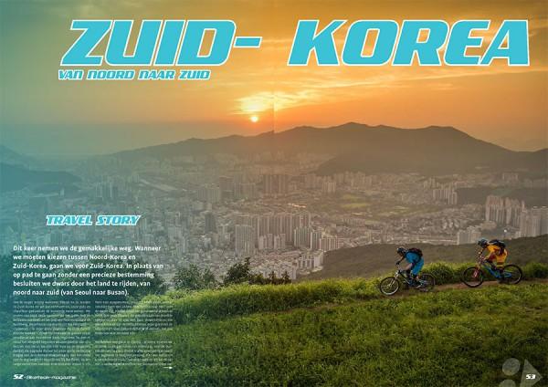Zuid-Korea: van noord naar zuid