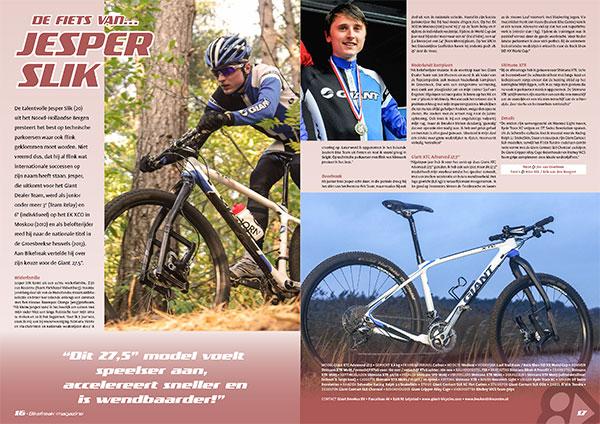 De fiets van… Jesper Slik