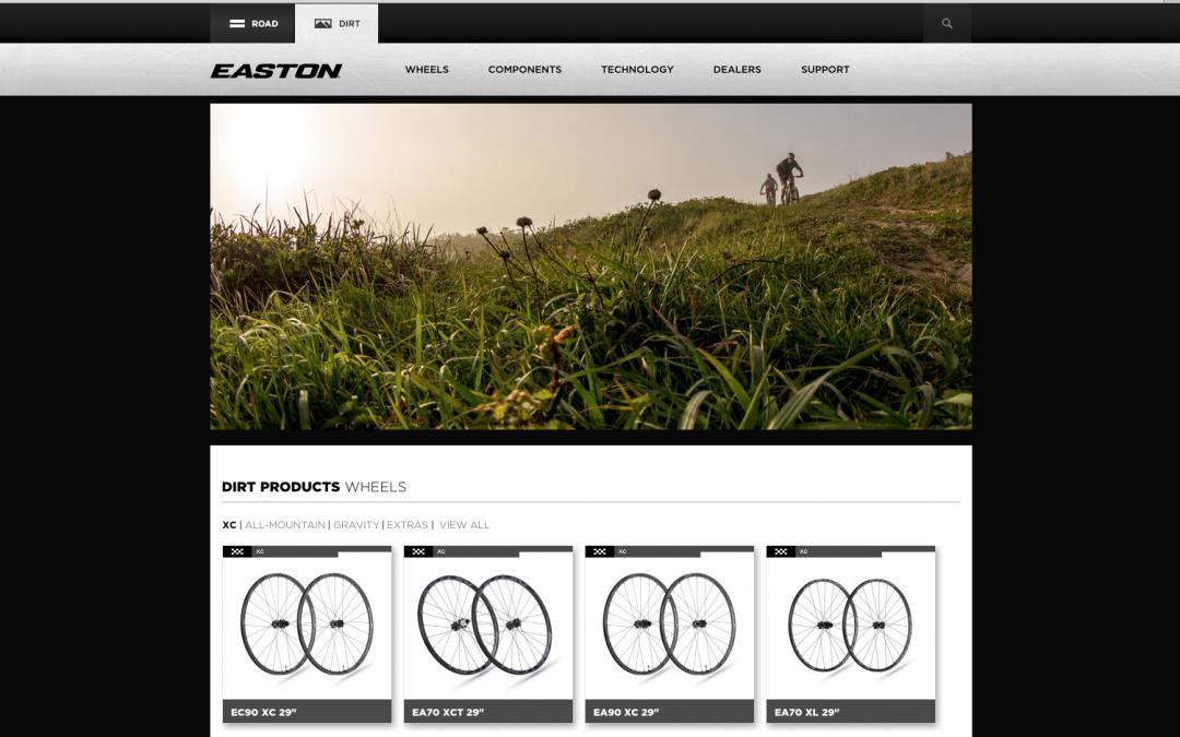 Easton XC-wielen