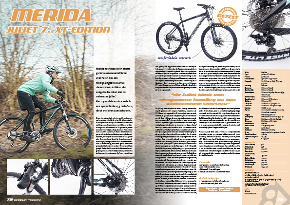 Merida Juliet 7. XT-Edition
