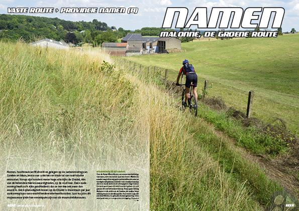 Namen (B) – Malonne, de groene route