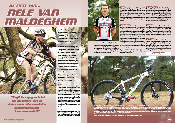 De fiets van… Nele van Maldeghem
