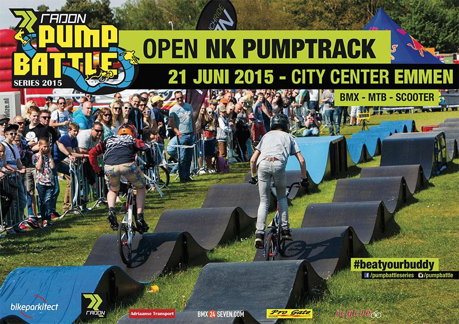 Open Nederlands Kampioenschap Pumptrack Emmen