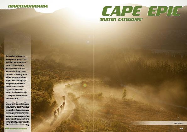 Marathonmania: Cape Epic