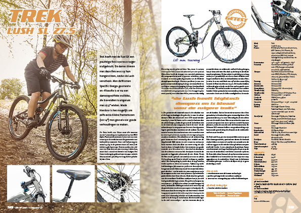 Test Trek Lush SL 27.5