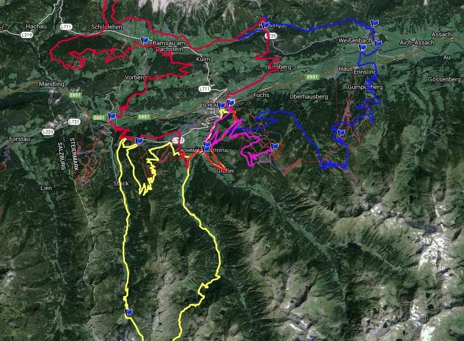 Alpentour – Schladming is van start gegaan