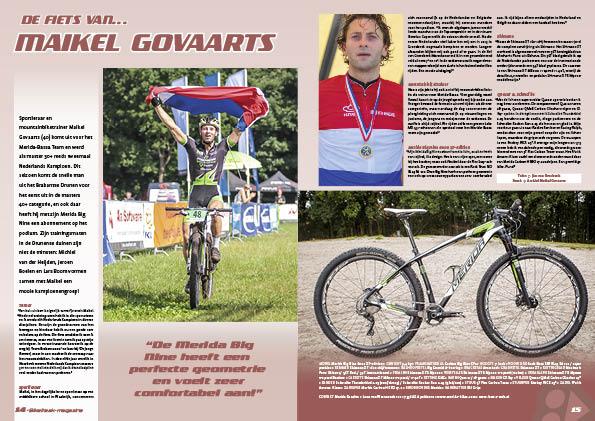 De fiets van… Maikel Govaarts