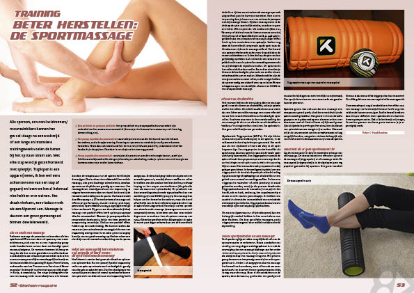 Beter herstellen: de sportmassage
