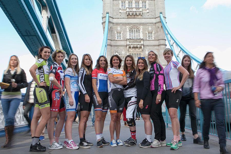 Strongher – een podium voor vrouwen die fietsen