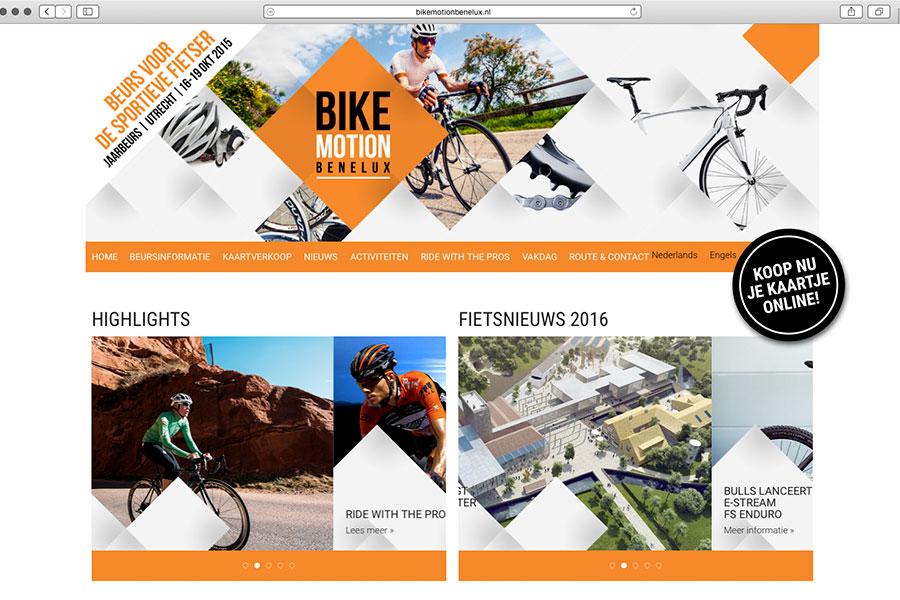 Bike MOTION Benelux – van 16 t/m 19 oktober in de Jaarbeurs te Utrecht