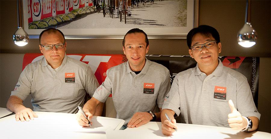 CST Tires wordt naamsponsor voor Bart Brentjens' team