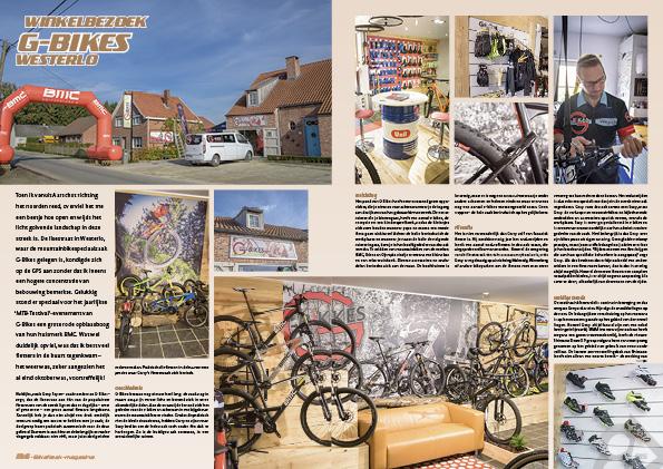 Winkelbezoek G-Bikes Westerlo