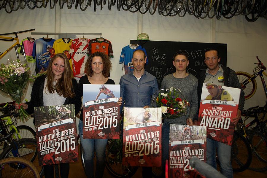 MTB Awards voor Van Houts, Terpstra, Vader en De Vries