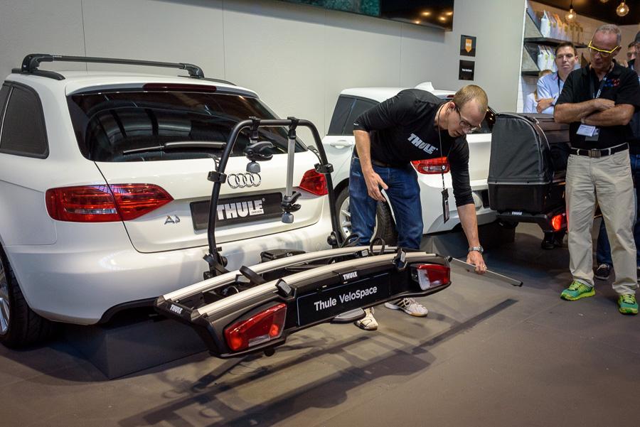 Thule toont nieuwste fietsproducten tijdens Velofollies 2016
