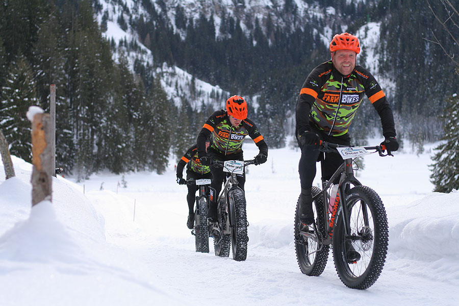Team FarmBikes op Snow Bike Festival