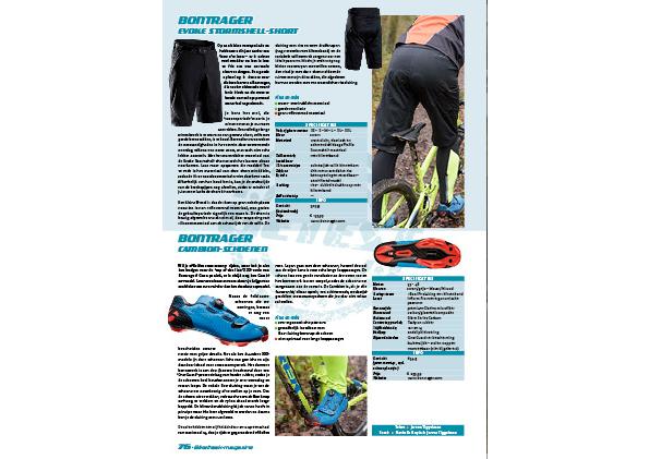 Test Bontrager Cambion-schoenen