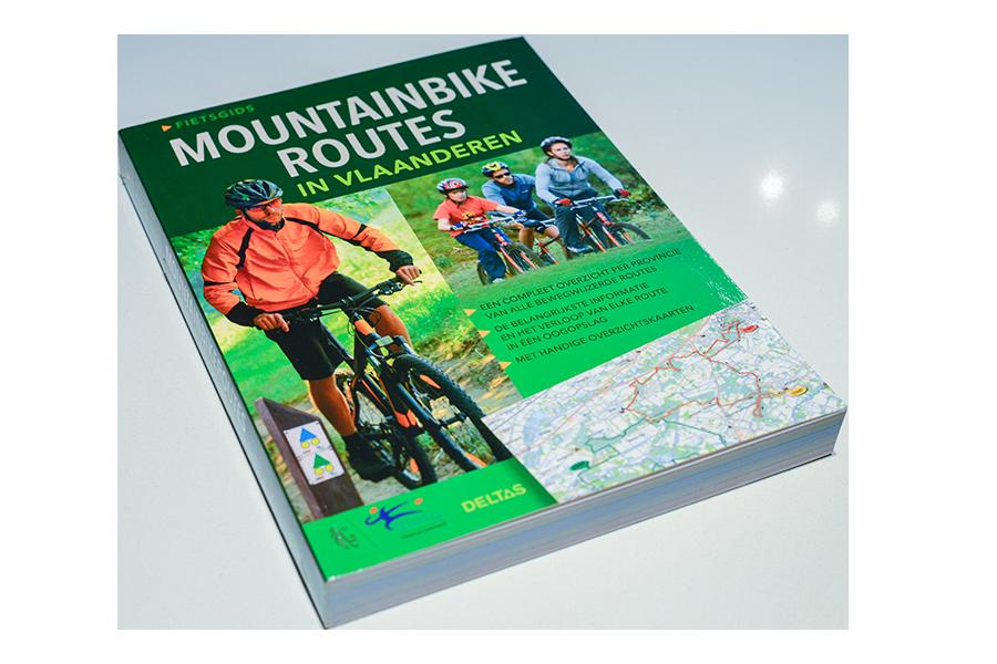 Fietsgids Mountainbikeroutes Vlaanderen