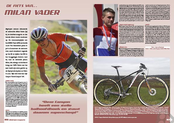 De fiets van… Milan Vader
