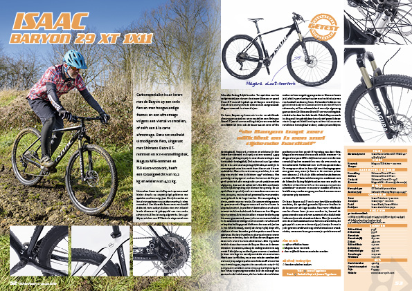 Isaac Baryon 29 XT 1×11