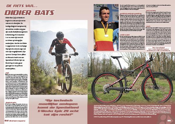 De fiets van… Didier Bats