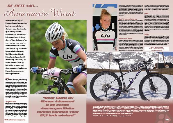 De fiets van… Annemarie Worst