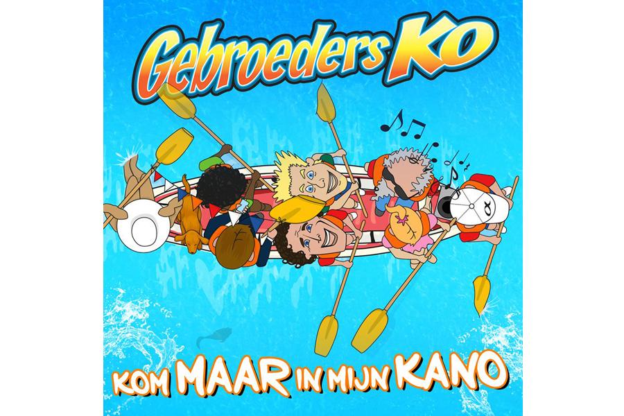Gebroeders Ko met nieuwste single op Streetrace Goirle.