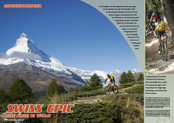 Swiss Epic – luxe biken in Wallis