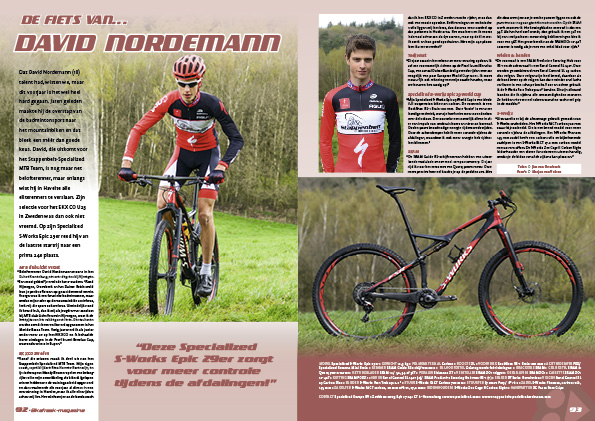 De fiets van… David Nordemann