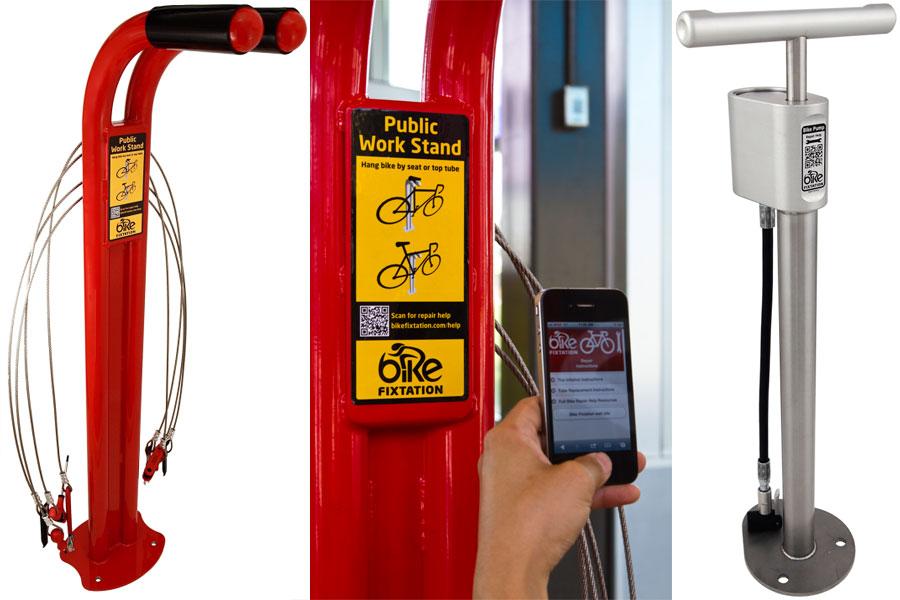 Een gereedschapspaal voor alle fietsers!