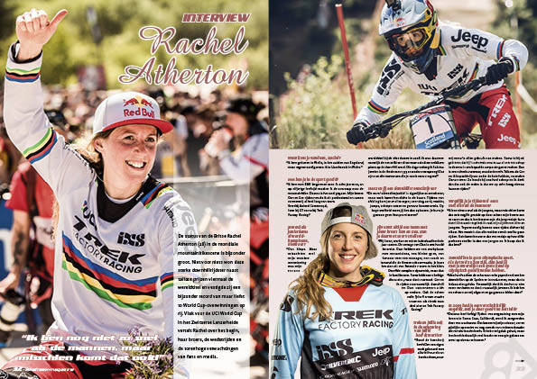 Interview Rachel Atherton