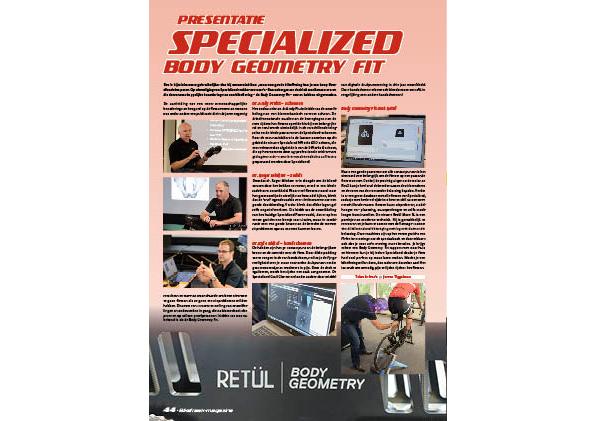 Presentatie – Specialized Body Geometry Fit