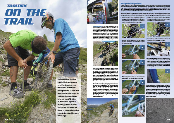 Tooltime – On the trail