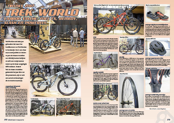 Nieuws 2017 Trek World
