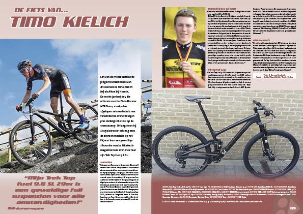 De fiets van… Timo Kielich