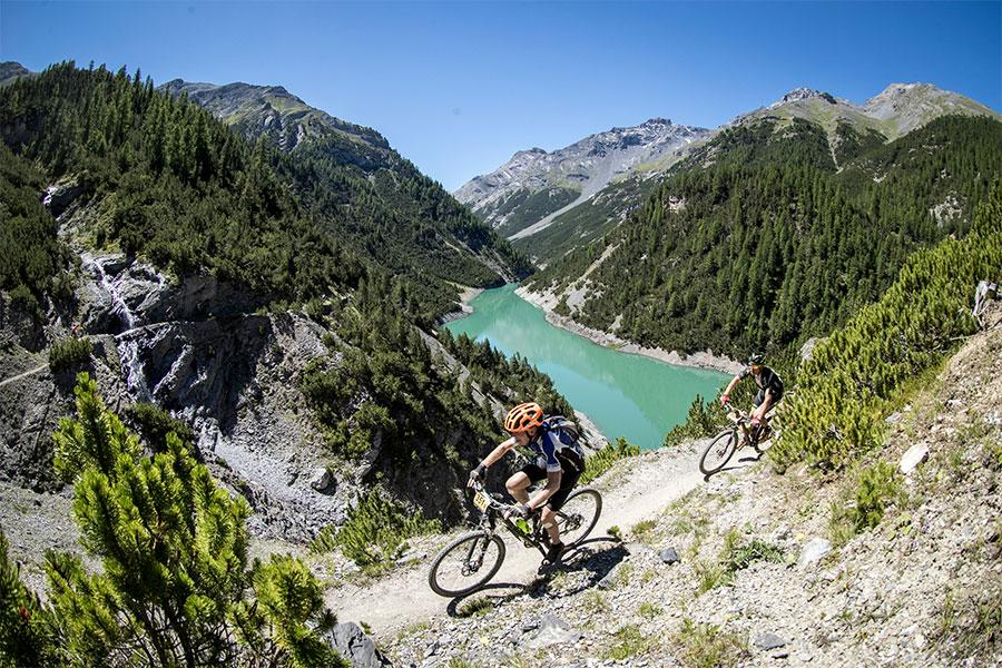 Bike Transalp – details etappes online!