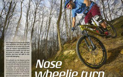Rijtechniek – Nose wheelie turn
