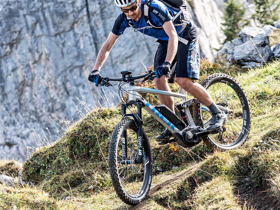 DT Swiss Hybrid-wielen voor e-MTB's of zware rijders