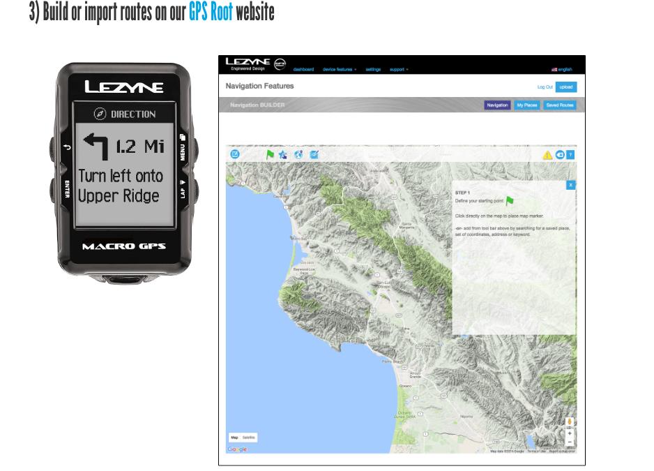 Custom routes ontwerpen nu beschikbaar op Lezyne Year 10 GPS