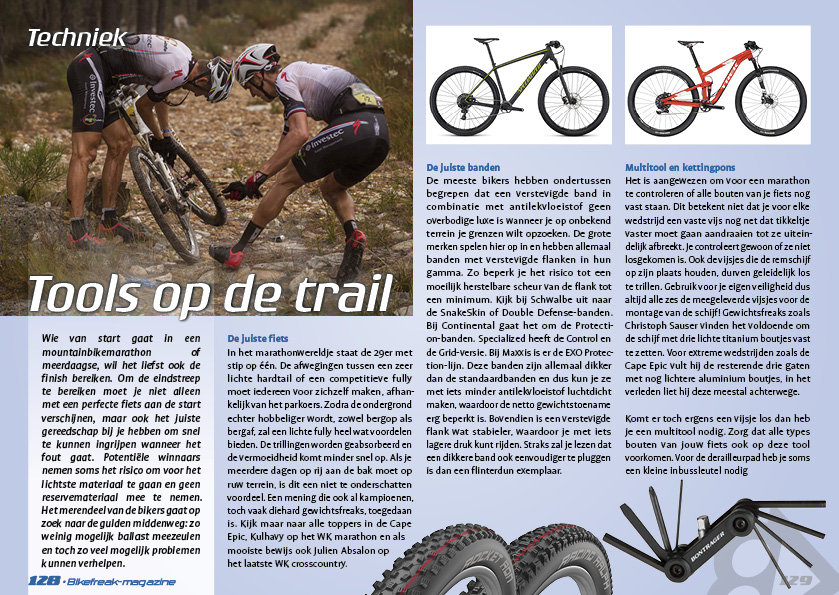Tools op de trail