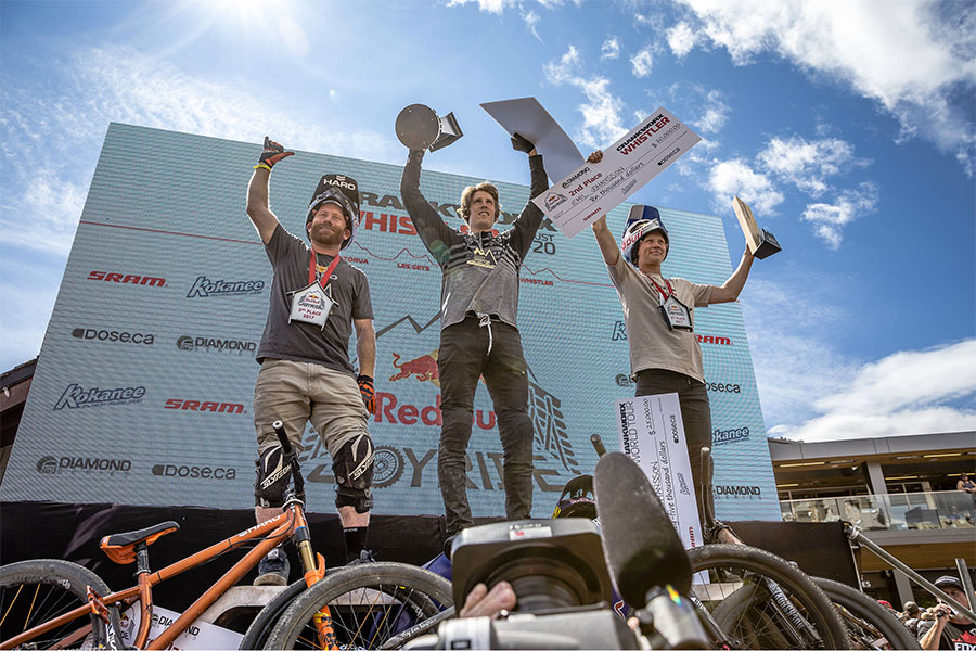 Semenuk wint Crankworx Whistler – Johansson wint overall klassement