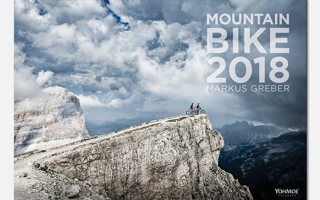 Mountainbike-kalender 2018 door Markus Greber