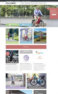 Flyer Website Homepagina