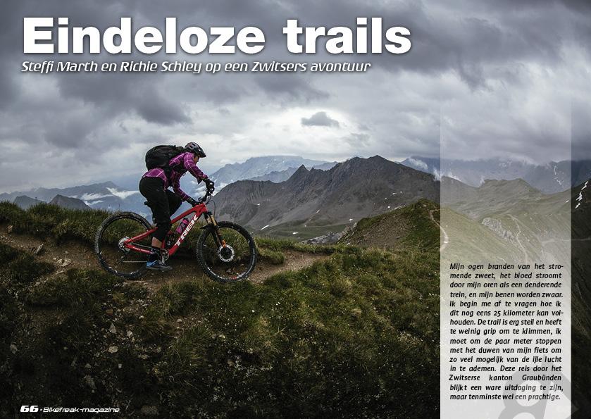 Trailhunting Graubunden – eindeloze trails