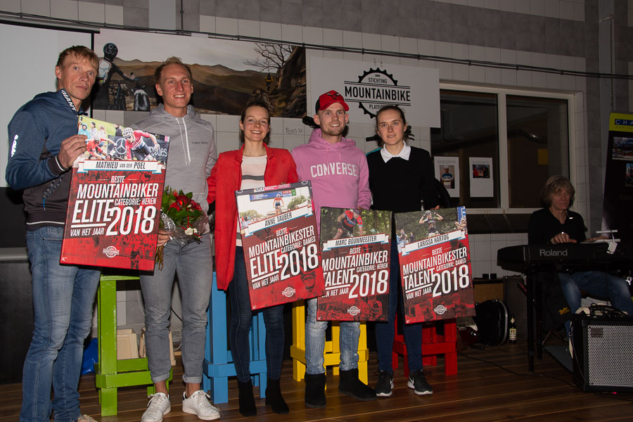 MTB Awards voor Tauber en Van der Poel