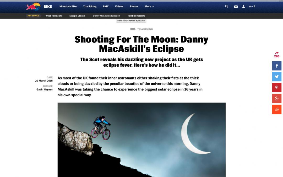 Zonsverduistering met Danny MacAskill