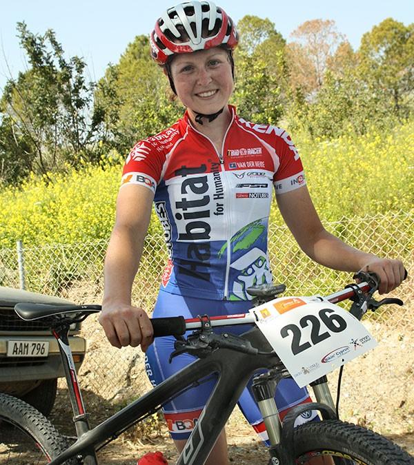 Onverwachte 3e plaats voor Anne Terpstra tijdens Cyprus Sunshine Cup!