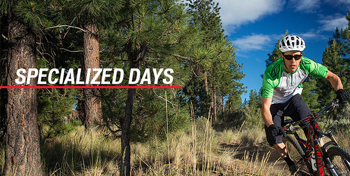 Specialized Days op 4 en 5 april 2015