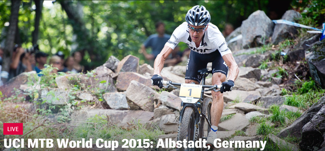 Live coverage UCI MTB World Cup 2015 in Albstadt, Duitsland