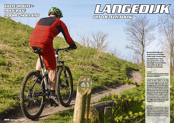 Vaste route: Langedijk – uit de schaduw