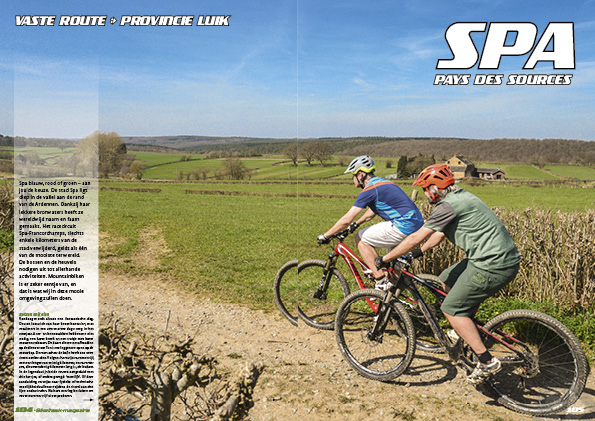 Mountainbikeroute Spa – Pays des Sources